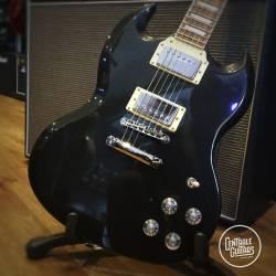 Jet black metallic